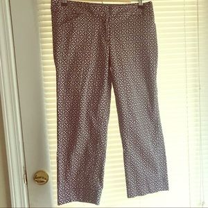 Laundry crop pants